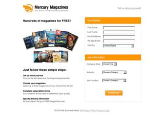 Thumbshot of Mercurymagazines.com