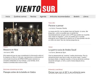 Thumbshot of Vientosur.info