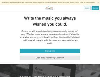 hooktheory.com screenshot