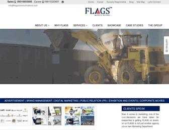 flagscommunications.com screenshot