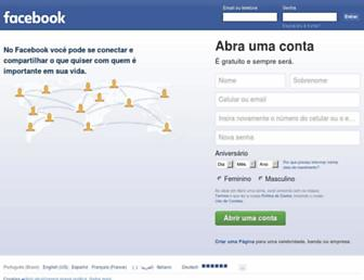 pt-br.facebook.com screenshot
