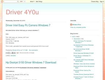 driver-4you.blogspot.com screenshot