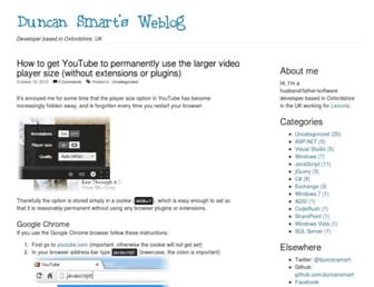 Main page screenshot of dotsmart.net