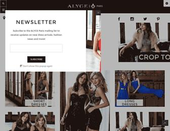 Thumbshot of Alyceparis.com