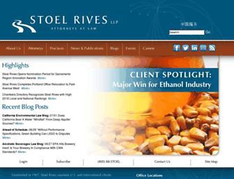 stoel.com screenshot