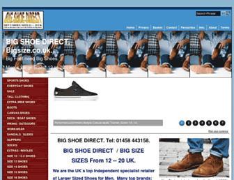 bigsize.co.uk screenshot