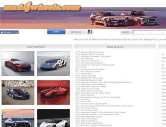mad4wheels.com screenshot