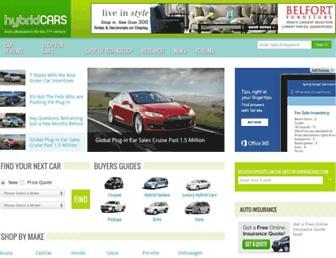 hybridcars.com screenshot