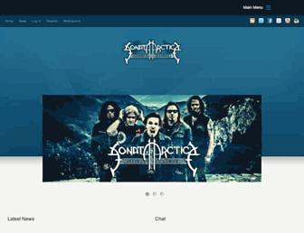 sonataarcticafanclub.com screenshot