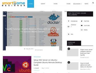 smarthomebeginner.com screenshot