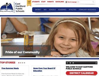 easthartford.org screenshot