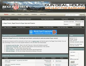 rugerforum.net screenshot