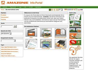 info.amazone.de screenshot