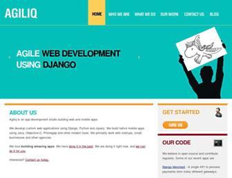 Thumbshot of Agiliq.com