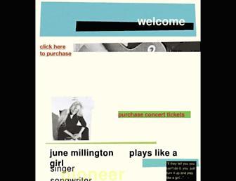 junemillington.com screenshot
