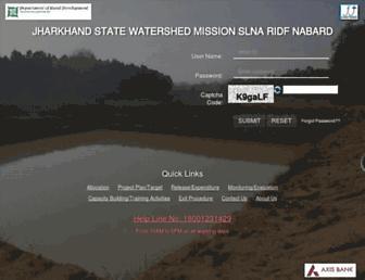 jswmridfwatershed.org screenshot