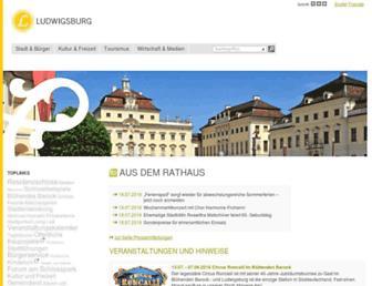 ludwigsburg.de screenshot