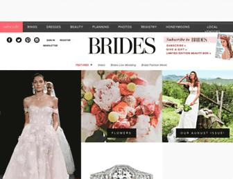 brides.com screenshot