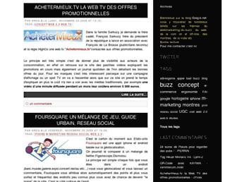 Main page screenshot of greg-b.net