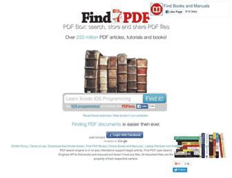 Thumbshot of Findpdf.net