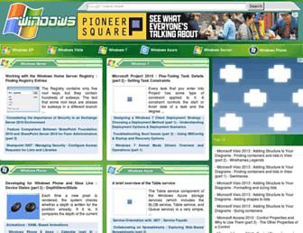 Main page screenshot of allcomputers.us
