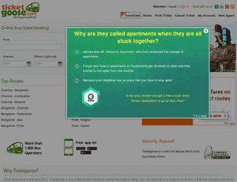ticketgoose.com screenshot