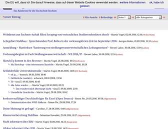 Main page screenshot of bauforum.wirklichewelt.de