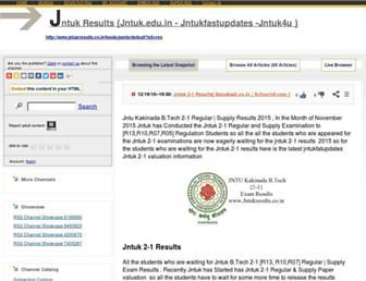 jntukfastupdates1.rssing.com screenshot