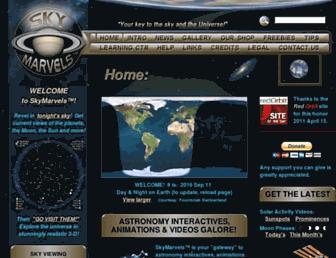 skymarvels.com screenshot