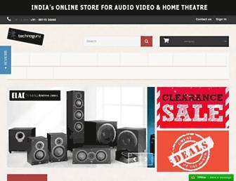shop.technoguru.in screenshot