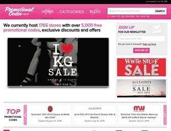 Thumbshot of Promotionalcodes.org.uk