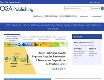 osapublishing.org screenshot