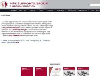 pipesupports.com screenshot