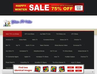 Thumbshot of Ghanatvon.com