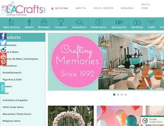 lacrafts.com screenshot