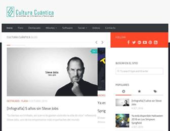 culturacuantica.com.ar screenshot