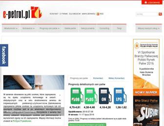Thumbshot of E-petrol.pl