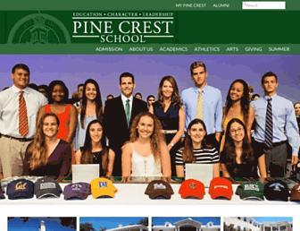 Thumbshot of Pinecrest.edu