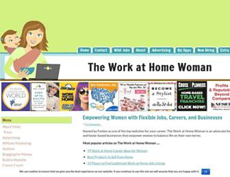 theworkathomewoman.com screenshot