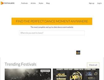 festivalsero.com screenshot