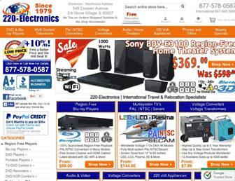 Thumbshot of 220-electronics.com
