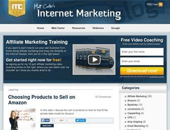 Thumbshot of Mattsmarketingblog.com