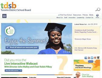 tdsb.on.ca screenshot