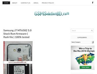 gsmsolutionbd.com screenshot