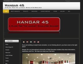 hangar45.net screenshot