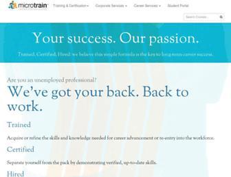 microtrain.net screenshot