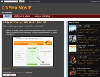 cinemamovie13.blogspot.com screenshot