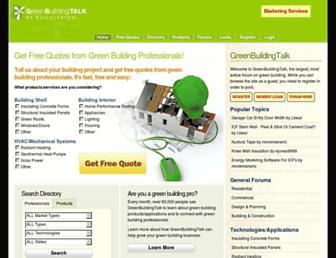 greenbuildingtalk.com screenshot