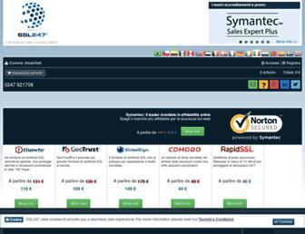 ssl247.it screenshot
