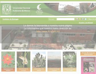 ibiologia.unam.mx screenshot